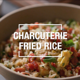 Food & Wine: Charcuterie Fried Rice