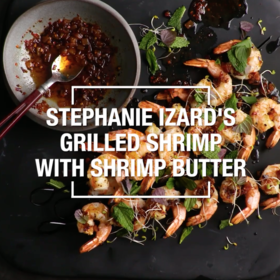 Food & Wine: Grilled Shrimp with Shrimp Butter
