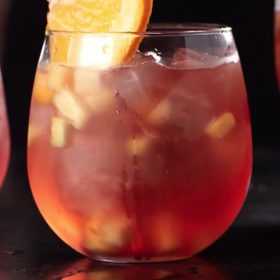 mkgalleryamp; Wine: Sparkling Pomegranate Punch