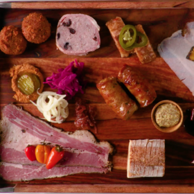 mkgalleryamp; Wine: Isaac Toups' Charcuterie Board