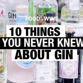 mkgalleryamp; Wine: 10 Things You Didn't Know About Gin