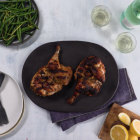 mkgalleryamp; Wine: Yogurt-Marinated Grilled Chicken