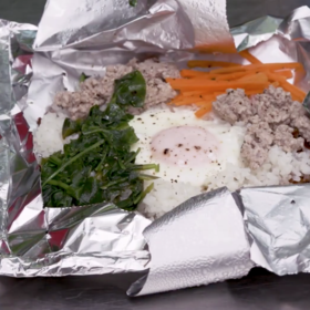 mkgalleryamp; Wine: How to Make Easy Foil Pack Bibimpap On a Grill