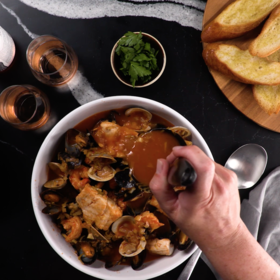 Food & Wine: Cioppino with Mussels