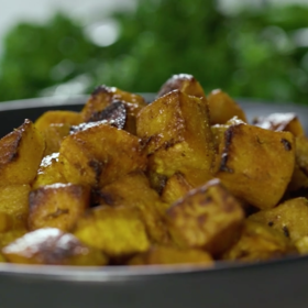 Food & Wine: Spice Roasted Butternut Squash
