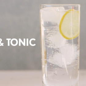 Food & Wine: Rum and Tonic
