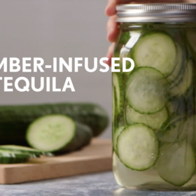 Food & Wine: Cucumber-Infused Tequila