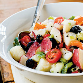 Food & Wine: Ultimate Reader Recipe Contest: Light and Fresh Potato Salad