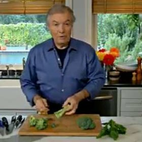 Food & Wine: Jacques Pépin: Peeling Broccoli
