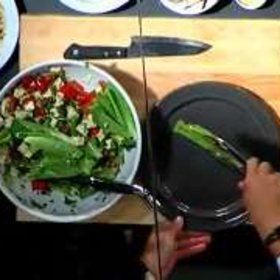 Food & Wine: Ming Tsai: Tofu Greek Salad