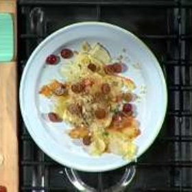 Food & Wine: José Andrés: Croutons with Grapes