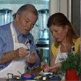 Food & Wine: Jacques & Claudine Pépin: Caviar and Potato Canapés