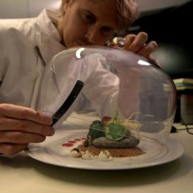Food & Wine: FOOD & WINE Grant Achatz Smoking Trick