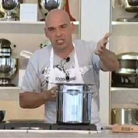 Food & Wine: Michael Symon: Mac and Cheese with Roasted Chicken, Goat Cheese and Rosemary