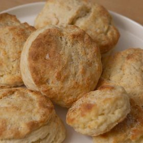 Food & Wine: How to Make Biscuits with Grated Butter