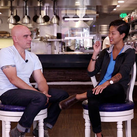 Food & Wine: Michael Symon and Kristen Kish: How to Make Scrambled Eggs