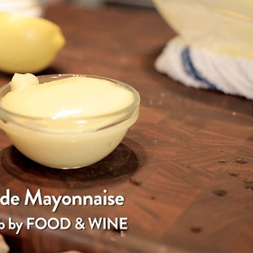 Food & Wine: Linton Hopkins: Homemade Mayonnaise