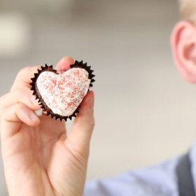 Food & Wine: How to Make Heart-Shaped Cupcakes