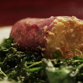 Food & Wine: Sweet Potato Tempura at Kyo Ya, NYC