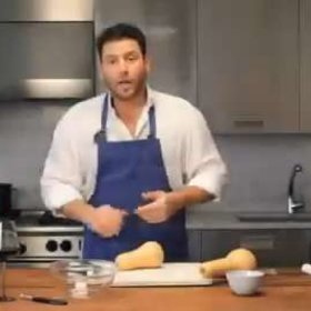 Food & Wine: Scott Conant: Preparing Butternut Squash