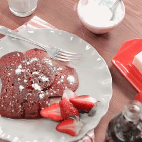Food & Wine: How To Make Red Velvet Pancakes