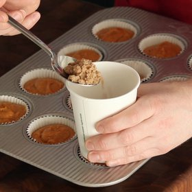 Food & Wine: How to Make a Paper Cup Funnel