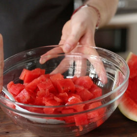 Food & Wine: How to Cut Watermelon Into Perfect Cubes