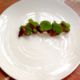 Food & Wine: How a Charleston Chef Makes Winter Strawberry Salad