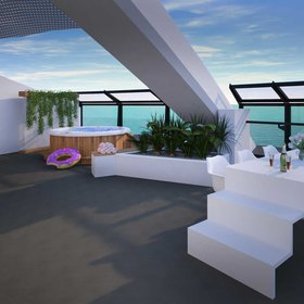 mkgalleryamp; Wine: Richard Branson's Virgin Voyages Will Have the Coolest Suites at Sea