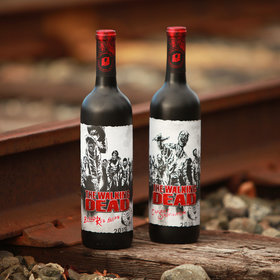 Food & Wine: 'Walking Dead' Wines Feature Labels That Come Alive When Viewed With a Smartphone