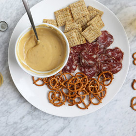 Food & Wine: Warm Beer and Cheese Dip