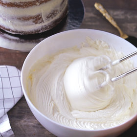 Food & Wine: White Chocolate Buttercream