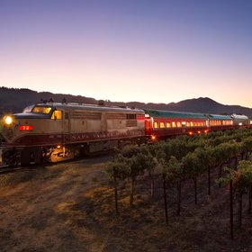 Food & Wine: The Napa Valley Wine Train Is Transforming for an '80s-themed Murder Mystery Ride
