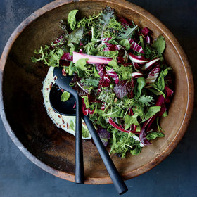 Food & Wine: Winter Greens Salad with Buttermilk Dressing