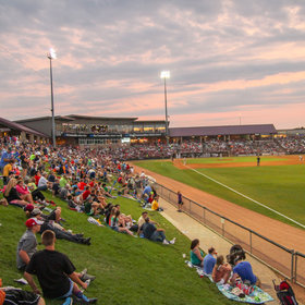mkgalleryamp; Wine: They Shoot Bratwurst from a Cannon at This Minor League Ballpark in Wisconsin, Because Wisconsin