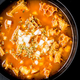 Food & Wine: Mexican Tripe Soup