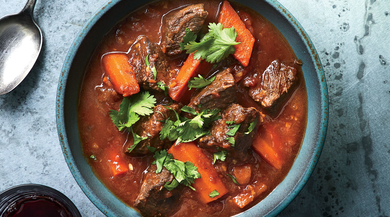 Viet Beef Stew with Star Anise and Lemongrass