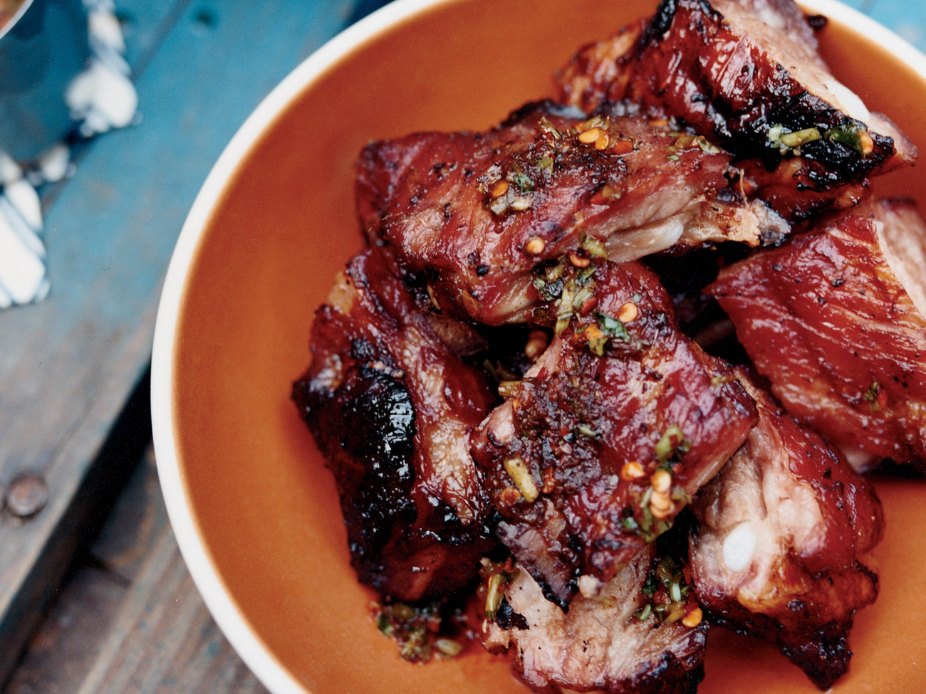 Honey-Glazed Baby Back Ribs with Whiskey Marinade