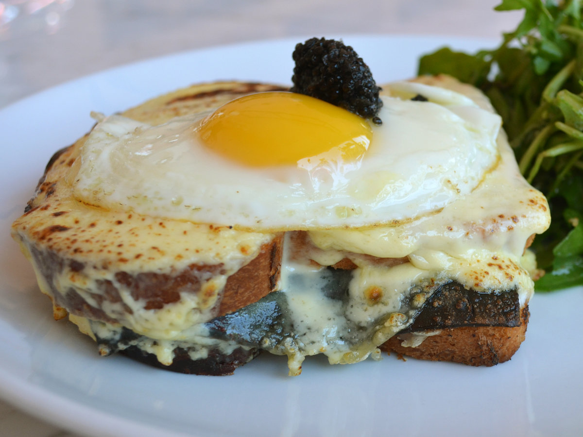 FWX CAVIAR CROQUE MADAME FROM PETROSSIAN