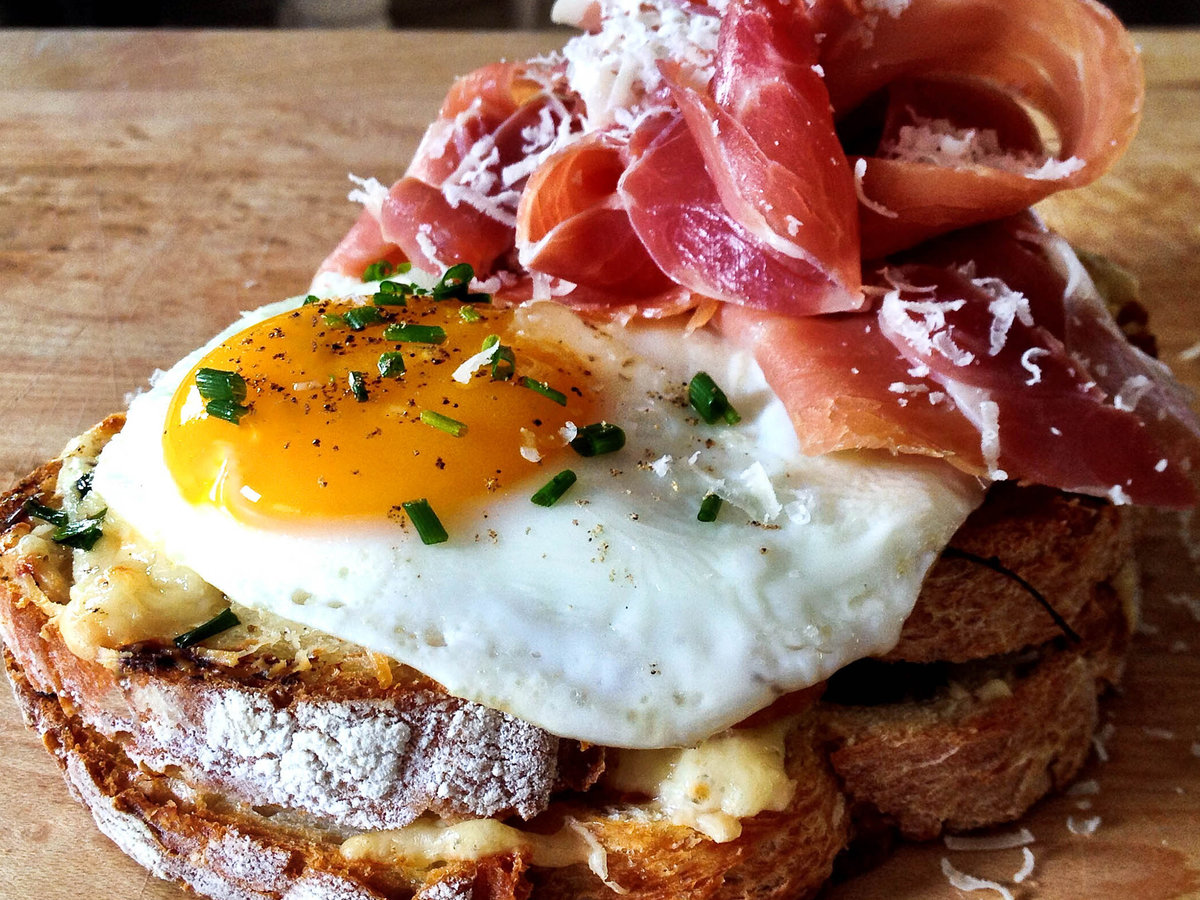 The French Way To The Perfect Breakfast Sandwich