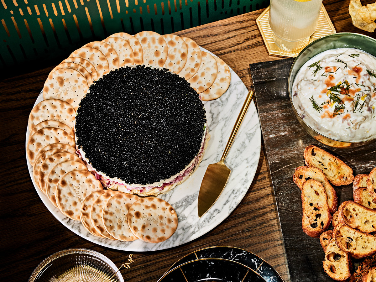 Four Layer Caviar Dip Recipe