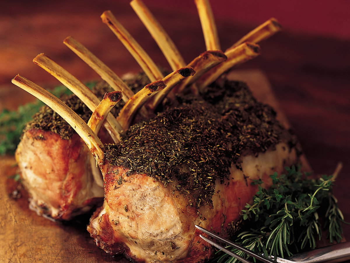 Roasted Rack Of Veal Recipe