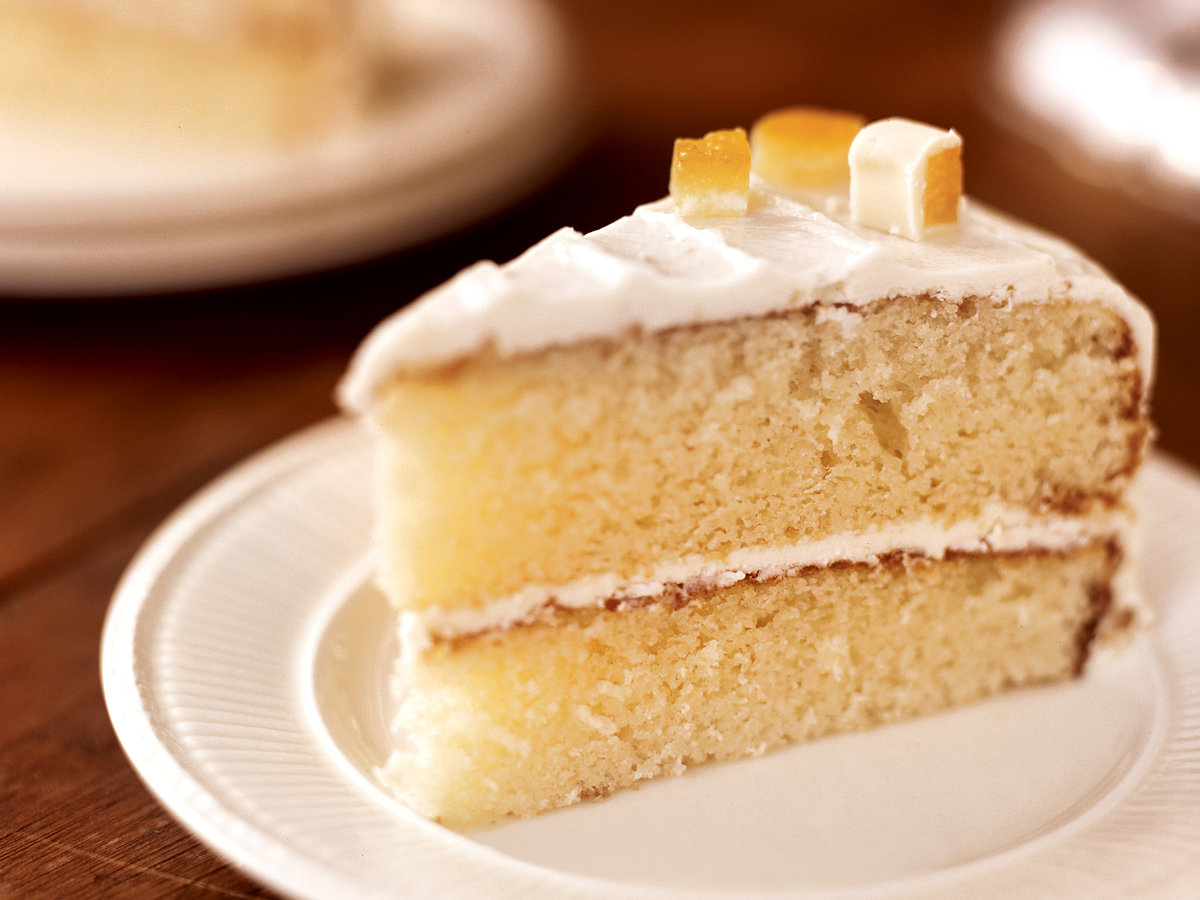 White Sugar Cake Recipe