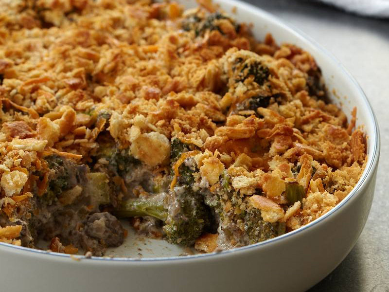 Broccoli and Wild Mushroom Casserole Recipe - Robert ...