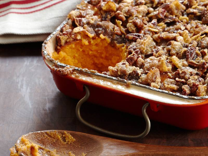 recipe: crumble topping for sweet potato casserole [17]