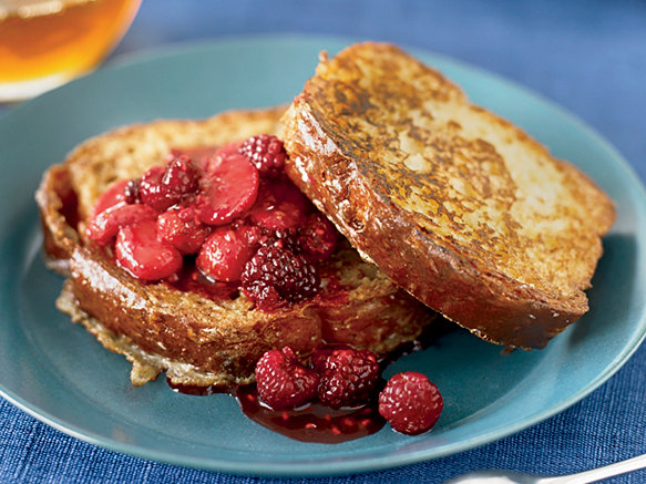 Brioche french toast with fresh berry compote recipe mariah swan brioche french toast with fresh berry compote recipe mariah swan food wine ccuart Images