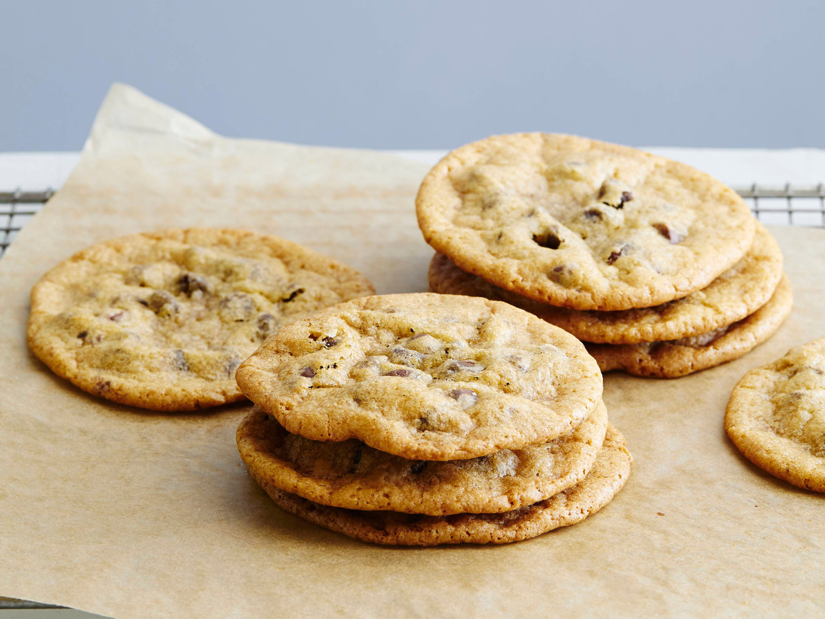 <p>Milk-Chocolate-Chip Cookies</p>