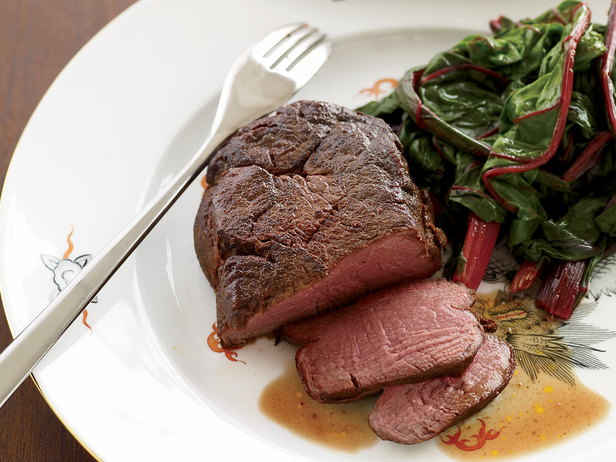 Beef Tenderloin with Aromatic Thai Spices