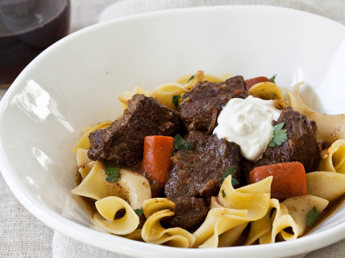 March 5: Slow Cooker Beef Goulash