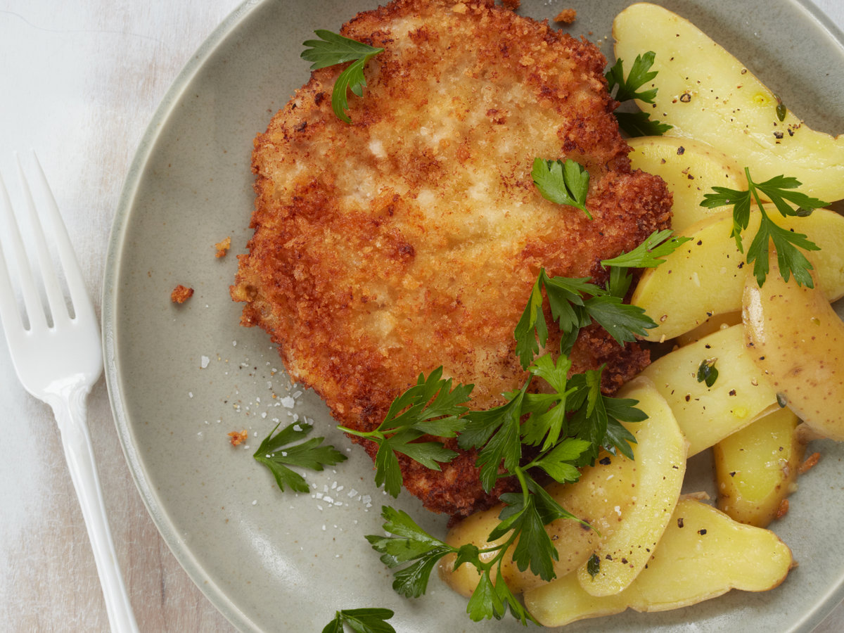 Pork Schnitzel - for those who are very hungry 76